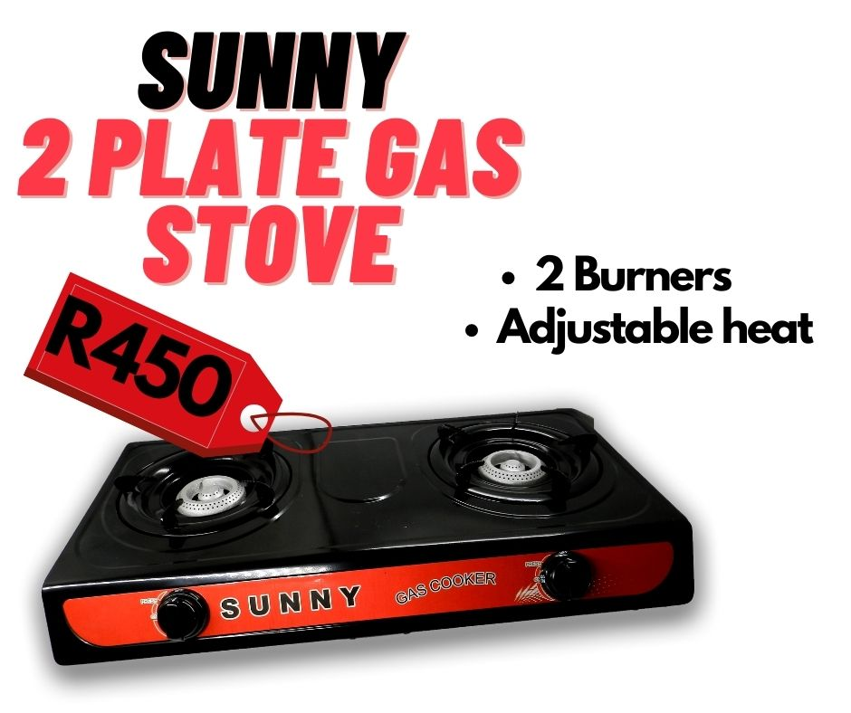 SUNNY 2 PLATE GAS STOVE